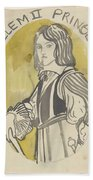 Design For A Painting In The Mailboot William II Prince Of Orange, Carel Adolph Lion Cachet, 1874 -  Hand Towel