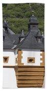 Detail Of Burg Pfalzgrafenstein Bath Towel