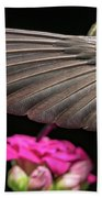 Details Of The Hummingbird Wing Bath Towel