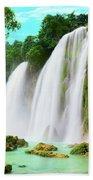 Detian Waterfall Hand Towel