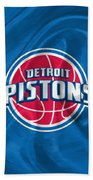Detroit Pistons Bath Towel