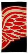 Detroit Red Wings - Scrolled Bath Towel