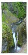 Devil Creek Falls   Bath Towel