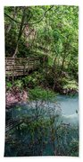 Devil's Millhopper Gainesville Fl II Bath Towel