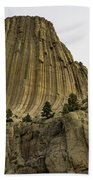 Devils Tower 6 Bath Towel