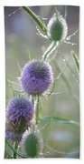 Dew On Thistles 2 Hand Towel