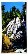 Diamond Creek Falls Bath Towel