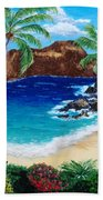 Diamond Head Bath Towel