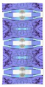Diamonds Lilac Bath Towel