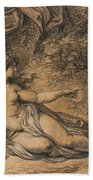Diana And Actaeon Hand Towel
