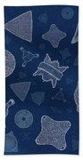 Diatoms Bath Towel