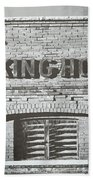 Dick's Brewery-historical Architecture  Bath Towel