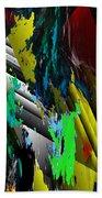Digital Abstraction 070611 Bath Towel