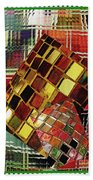 Digital Mosaic Hand Towel