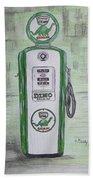 Dino Sinclair Gas Pump Hand Towel