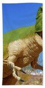 Dinosaur 5 Bath Towel