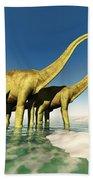 Dinosaur World Bath Towel