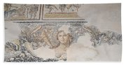 Dionysus Mosaic Mona Lisa Of The Galilee Bath Towel