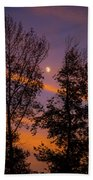 Distant Moon Bath Towel