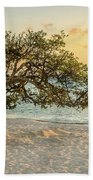 Divi Tree Sunset Bath Towel