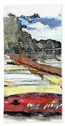 Do-00124 Tender Boats Bath Towel