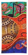 Dobro - Slide Guitar Bath Towel