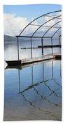 Dock Reflection Bath Towel