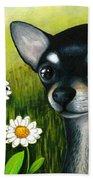 Dog 79 Chihuahua Bath Towel