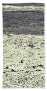 Dog Frolicking On A Beach Bath Towel