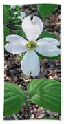 Dogwood Blossoms Bath Towel