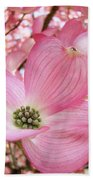Dogwood Tree 1 Pink Dogwood Flowers Artwork Art Prints Canvas Framed Cards Bath Towel