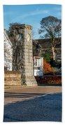 Dollar Town In Scotland Bath Towel