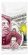 Dollar Vs Yen Hand Towel