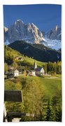 Dolomites View Bath Towel