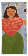 Dolores Huerta Bath Towel