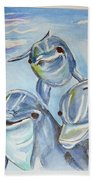 Dolphins Hand Towel