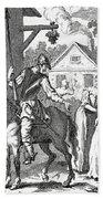 Don Quixote And Sancho Panza By William Bath Towel