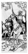 Don Quixote Bath Towel