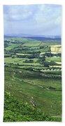 Donegal Patchwork Farmland Bath Towel
