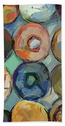 Donuts Galore Hand Towel