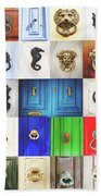 Door Knobs Of The World Collection Bath Towel by Sotiris Filippou