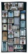 Doors Of Door County Poster Hand Towel