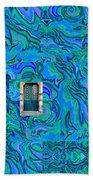 Doorway Into Multi-layers Of Water Art Collage Hand Towel
