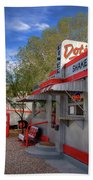 Dot's Diner In Bisbee Bath Towel
