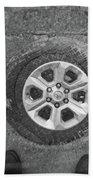 Double Exposure Manhole Cover Tire Holga Photography Hand Towel