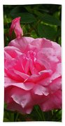 Double Rose Hand Towel