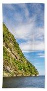 Doubtful Sound Opening To Tasman Sea Bath Towel