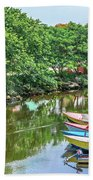 Down By The River Bath Towel