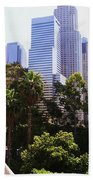 Downtown Los Angeles. 6th Street Bath Towel