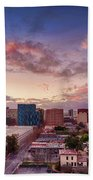 Downtown San Jose From City Heights Bath Towel